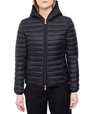 Save The Duck Daisy Hooded Jacket Black