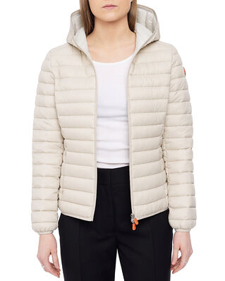 Save The Duck Daisy Hooded Jacket Cool Beige