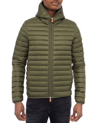 Save The Duck Hooded Jacket Dusty Olive