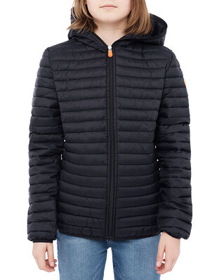 Save The Duck Junior Dony Hooded Jacket Black