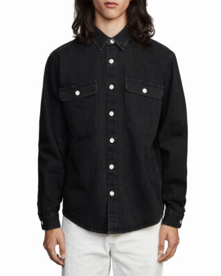 Schnaydermans Boxy Denim One Washed Black
