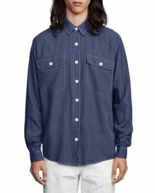 Schnaydermans Boxy Tencel One Blue