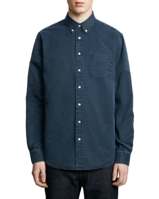 Schnaydermans Leisure Overdyed One Dark Blue