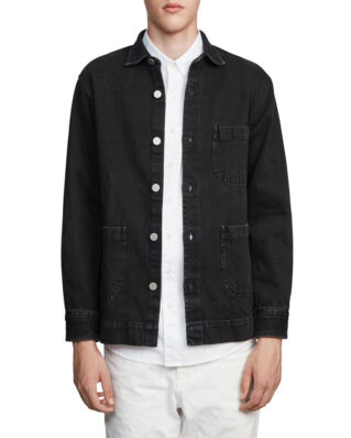 Schnaydermans Overshirt Denim Black