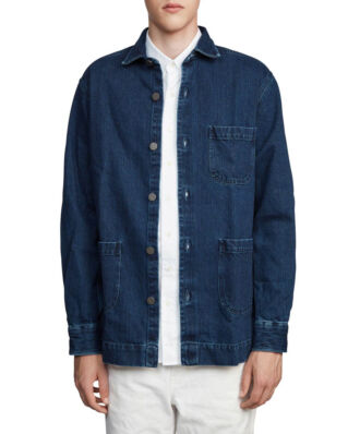 Schnaydermans Overshirt Denim Blue