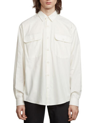 Schnaydermans Shirt Boxy Cashmere Solid White