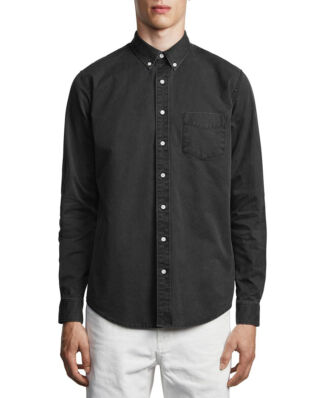 Schnaydermans Shirt Overdyed One Black