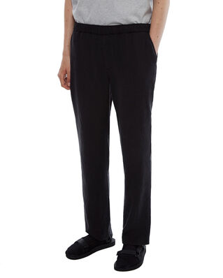 Schnaydermans Trousers Linen Mix Black