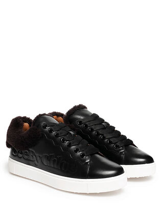 See By Chloé Essie Sneakers 12321 Texan Black