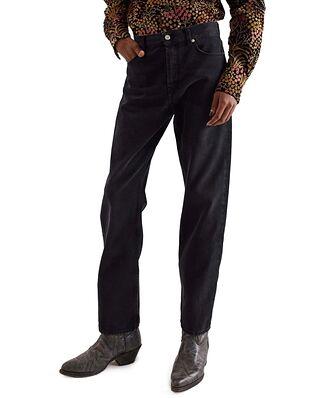 Séfr Straight Cut Jeans Rinsed Blue/Black