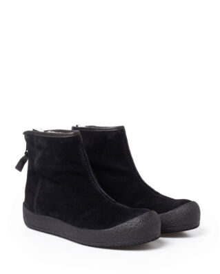 Shepherd Elin black suede shoes