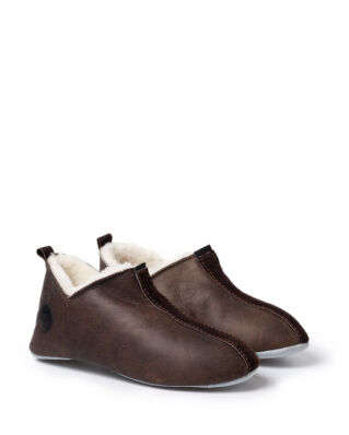 Shepherd Lina oiled antique slipper