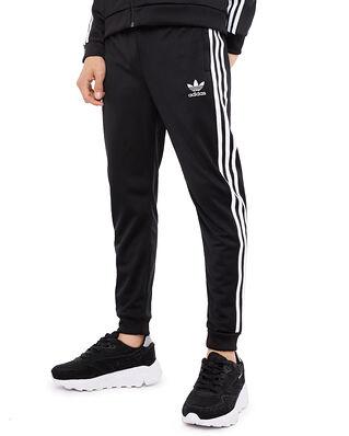 adidas Junior SST Track Pants Black/White