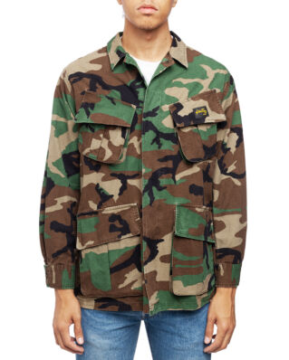 Stan Ray Tropical Jacket Stonewashed Woodland Camo