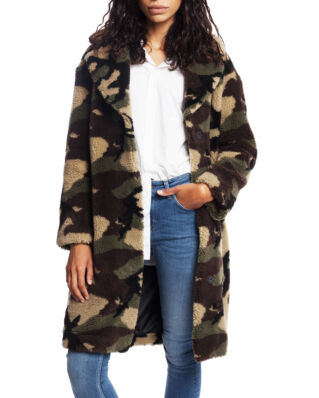 Stand Studio Camille Coocon Coat Camouflage