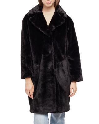 Stand Studio Camille Cocoon Coat Black