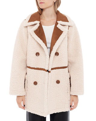 Stand Studio Chloe Jacket Off White/Tan
