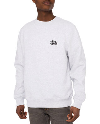 Stüssy Basic Stussy Crew Ash Heather