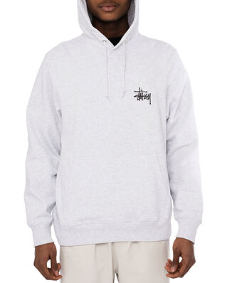 Stüssy Basic Stussy Hood Ash Heather