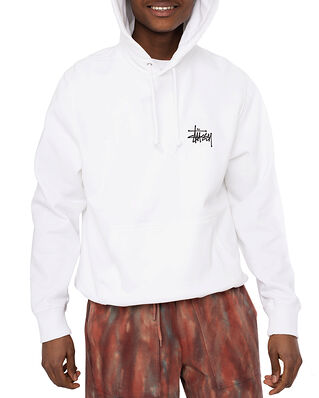 Stüssy Basic Stussy Hood White