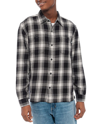 Stüssy Beach Plaid Shirt Black