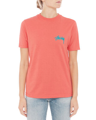 Stüssy Classic Stock Tee Pale Red