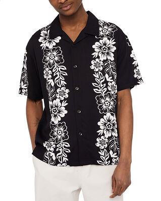 Stüssy Hawaiian Pattern Shirt Black