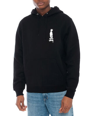Stüssy King Raggamuffin Hood Black