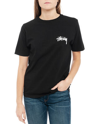 Stüssy Peace & Love Pig. Dyed Tee Black