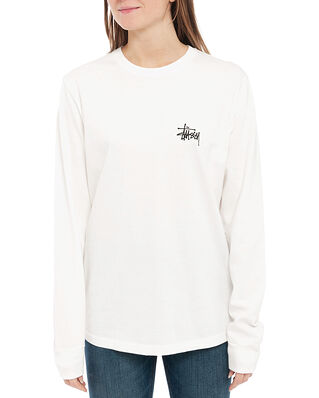 Stüssy Peace Pot Pig. Dyed LS Tee Natural