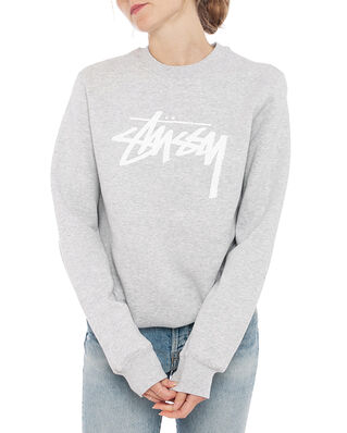 Stüssy Stock Crew Ash Heather