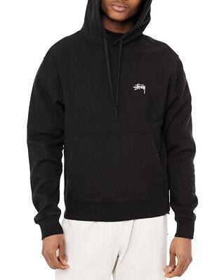 Stüssy Stock Logo Hood Black