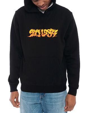 Stüssy Stussy Fire App. Hoodie Black