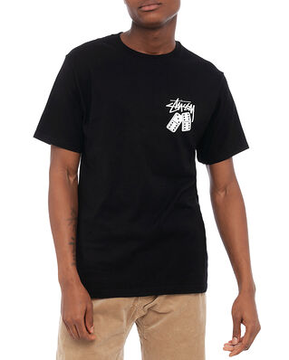 Stüssy Dominoes Tee Black