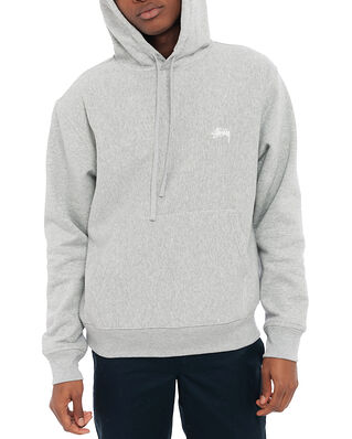 Stüssy Stussy Logo Hood Grey Heather