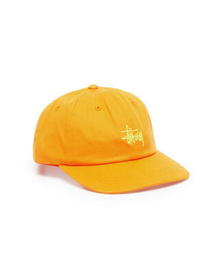 Stussy Sp19 Stock Low Pro Cap Orange