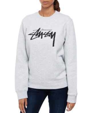 Stussy Stock Crew Ash Heather