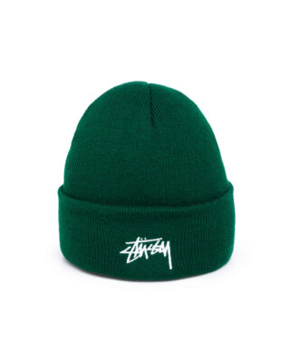 Stussy Stock Cuff Beanie Forest