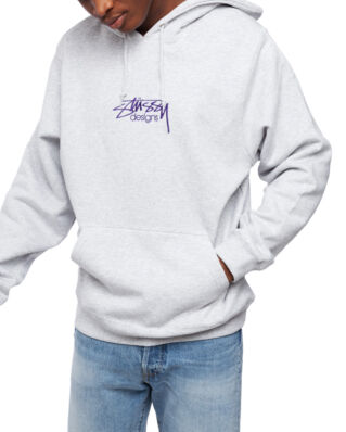 Stussy Stussy Designs App Hood Ash Heather