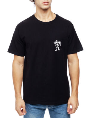 Stussy Warrior Man Tee Black