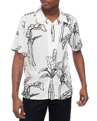 Stussy Banana Tree Shirt Off White