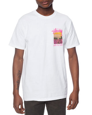 Stussy Clear Day Tee White