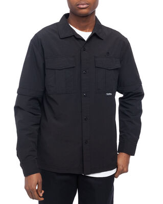 Stüssy Convertible Utility Shirt Black
