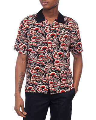Stüssy Coral Pattern Shirt Red