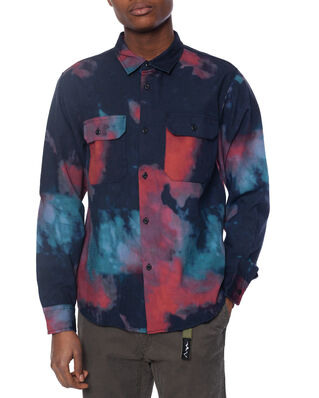 Stüssy Dark Dye Work Shirt Black