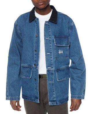 Stüssy Denim Chore Coat Blue