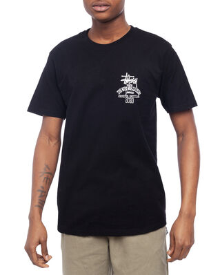 Stussy Jamaica World Tribe Tee Black