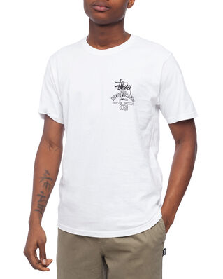 Stüssy Jamaica World Tribe Tee White