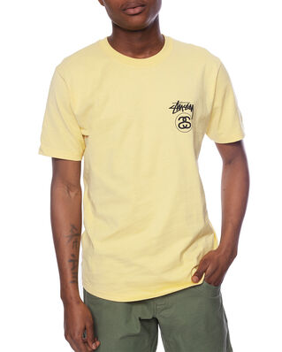 Stüssy Stock Link Tee Yellow