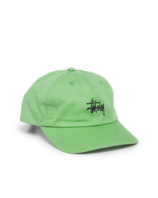 Stussy Stock Low Pro Cap Green
